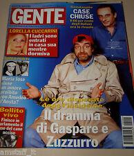 GENTE=2002/4=ZUZZURRO E GASPARE=ORIETTA BERTI=CUCCARINI=CLAUDIA GERINI=DELON=
