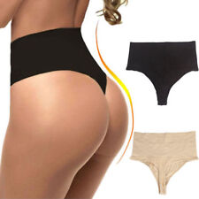 Checkers Undetectable Thong High Waist Tummy Control Shaper Underwear G Strings