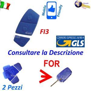 RICAMBIO MEMBRANA 2 Pezzi 3 TASTI FI3 PER Telecomando GUSCI FIAT