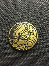 Pokemon Groudon Collector GOLD COIN - NEW