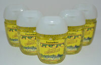 5 BATH & BODY WORKS LIMONCELLO LEMON POCKETBAC ANTI BACTERIAL HAND GEL SANITIZER