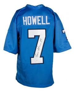 Sam Howell Signed North Carolina Tar Heels Jersey (JSA COA) 2021 Jr. Quarterback