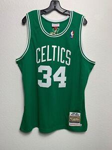 Men Mitchell & Ness NBA Authentic Jersey Boston Celtics Paul Pierce (XL)