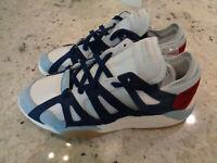 *NEW* Adidas Blue Dimension Lo Suede Sneakers Retro CG7129-Mens Size 10
