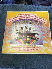 THE BEATLES Magical Mystery Tour Vinyl Record  24 Page Picture Book