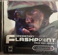 Operation Flashpoint: Cold War Crisis - PC CD Computer Game-TESTED-RARE VINTAGE