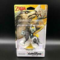 The Legend of Zelda Wolf Link Twilight Princess Amiibo Nintendo Figure NIB