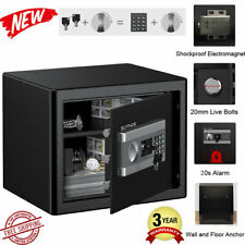 Electronic Fireproof Digital Safe Cabinet Cash Box Lock Safety Deposit Drawer US