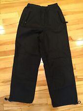 Lord N Taylor LT Sport Ladies Black Casual Active Pants Size 8 EUC