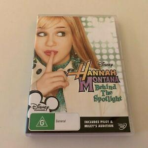 Hannah Montana - Behind The Spotlight Disney DVD