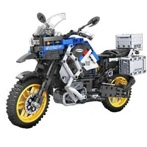 Educational American Motorcycle Winner C30 Block Building Motorcycle Technique