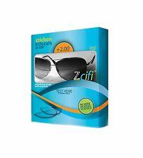 Lentes adhesivas de lectura Bifocales para gafas de sol Zcifi/+2.00D