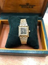 Ladies Solid Gold Rolex Watch 70s Vintage