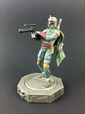 """Vintage Star Wars Kenner Epic Force 6"""" BOBA FETT 360 rotating figure w/ base '97"""