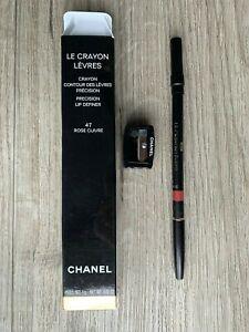 CHANEL Le Crayon Levres Precision Lip Definer Pencil w/Sharpener 93, 90, 69, 56,