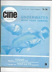 Amateur Cine World Magazine July 23 1964 including Underwater with your Camera -