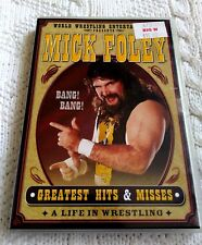 MICK FOLEY– DVD, 2-DISC SET, R-1, LIKE NEW, FREE POST IN AUSTRALIA