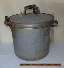 Vtg Kook-Kwick Steam pressure Cooker No. 10-20 Canner Pressure Kitchen