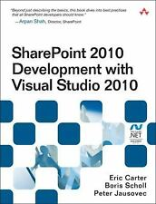 SharePoint 2010 Development with Visual Studio 2010 (Microsoft .NET De-ExLibrary