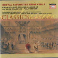 CD CHORAL FAVOURITES FROM KING' CLASSICS FOR PLEASURE  3069