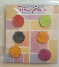 Booster de 6 Pin's Disney MICKEY TINKER STITCH WINNIE TIGROU CHESHIRE CAT NEUF