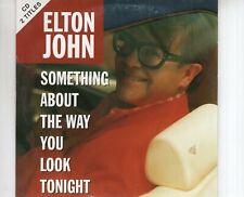 CD ELTON JOHNsomething about the way you look tonightSINGLE CARDSLEEVE (B3626)
