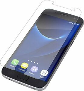 GENUINE ZAGG SAMSUNG GALAXY S7 INVISIBLESHIELD HD GLASS CLEAR SCREEN PROTECTOR