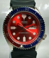 New listing Vintage Seiko Diver's Automatic 7S26A Movement Day Date Dial Wrist Watch Q148