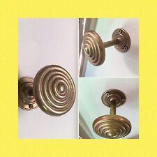 Antique Vintage Brass CurtainTie Back /Hold