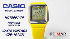 VINTAGE CASIO VDB-101JIM OFFICIAL HECTIC TIMING QW.1493 JAPAN AÑO 1990