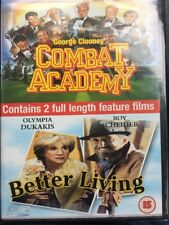 Combat Academy - Better Living -  DVD New & Sealed - 2 Full Length Feature Films