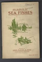 1935 John Player Sea Fishes Tobacco Cards Complete Set in Album