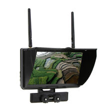 "Boscam Galaxy D2 7inch 7"" TFT FPV LCD screen monitor dual receiver 5.8GHz RC"