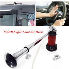 150DB Super Loud 12V Single Trumpet Air Horn Compressor Truck Boat Train Bright