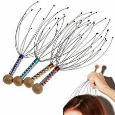 Steel Wire Head Neck Scalp Scratch Massager Massage Octopus Stress Relaxed Tools