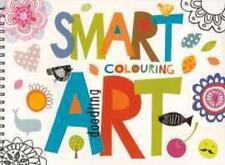 SMART ART DOODLE PAD BOOK 80 BIG SCENE COLOURING ADULT CHILDREN DRAWING PATTERNR