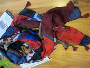 NEW - Nepal Cotton and Linen Scarf