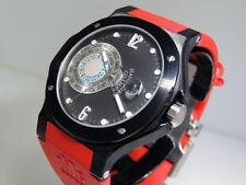 Jean-Mairet & Gillman World Time Sport S.GMT.SB.SILRUB LTD 45mm $14,600 NIB