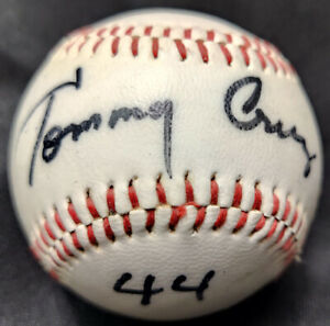 Tommy Cruz Japan Nippon Ham Fighters Logo Single Signed Autographed Baseball