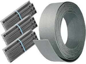 Randband Set 1x Profilband 19 cm 25 m +30 Pfähle 58cm Teichrand EcoSys 12,83€/m