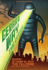 Gerard Way The Eeries Fillmore SF 10/12/2014 Poster F1291 My Chemical Romance