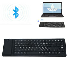 Universal Silicone Foldable Mini Wireless BT3.0 Keyboard Roll Up For iOS Android