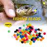 100PCS Sabiki Mixed Lure Spinners Fishing Rigging Plastic Beads Fishing Tools-