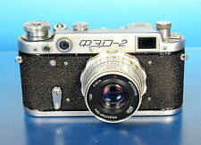 FED-2 Photographica Kamera camera appareil  Industar 26m 5cm/2.8 - (91414)