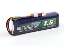 New Turnigy Taranis Battery Pack Nano-Tech 1500mAh 3S 9.9V Compatible JST-XH TX