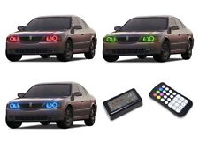 for Lincoln LS 00-02 RGB Multi Color M7 LED Halo kit for Headlights