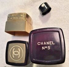 Vintage Chanel No. 5 Spray Cologne - Refillable Black Container-Empty