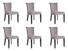 6x Design Polster Sitz Stühle Stuhl Seht Garnitur Sessel Lounge Club Set Largo