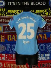 5/5 1.FC Saarbrücken ladies size L #25 Igwe 2008 football shirt jersey trikot