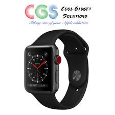 Apple Watch Series 3 42mm Space Grey Aluminium - Black Sport Band Cellular A1891